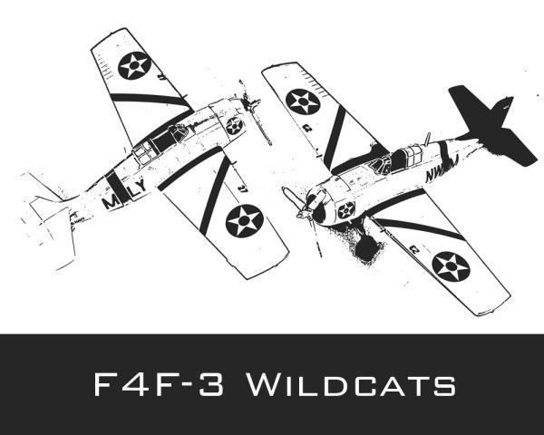 F4F-3 Wildcats