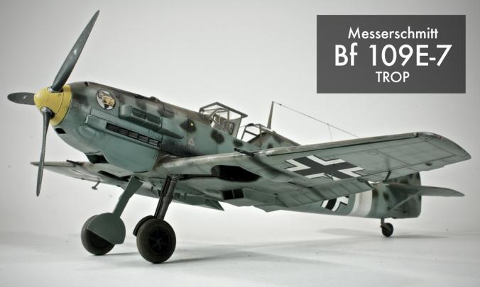 Messerschmitt Bf 109e 7 Trop Doogs Models