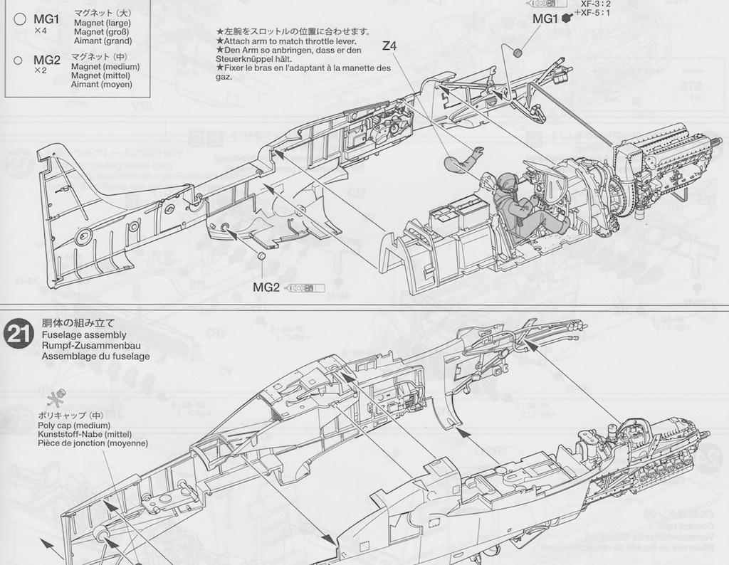 P 51 Engine Diagram Wiring Harrier Tamiya 51d Mustang Doogs Models Car