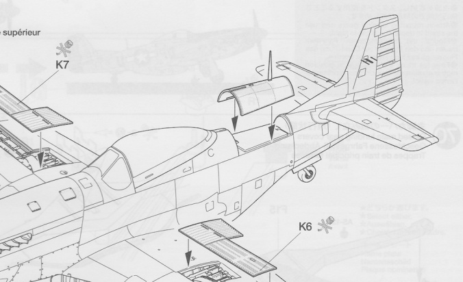 Tamiya 1/32 P-51D Mustang Instructions