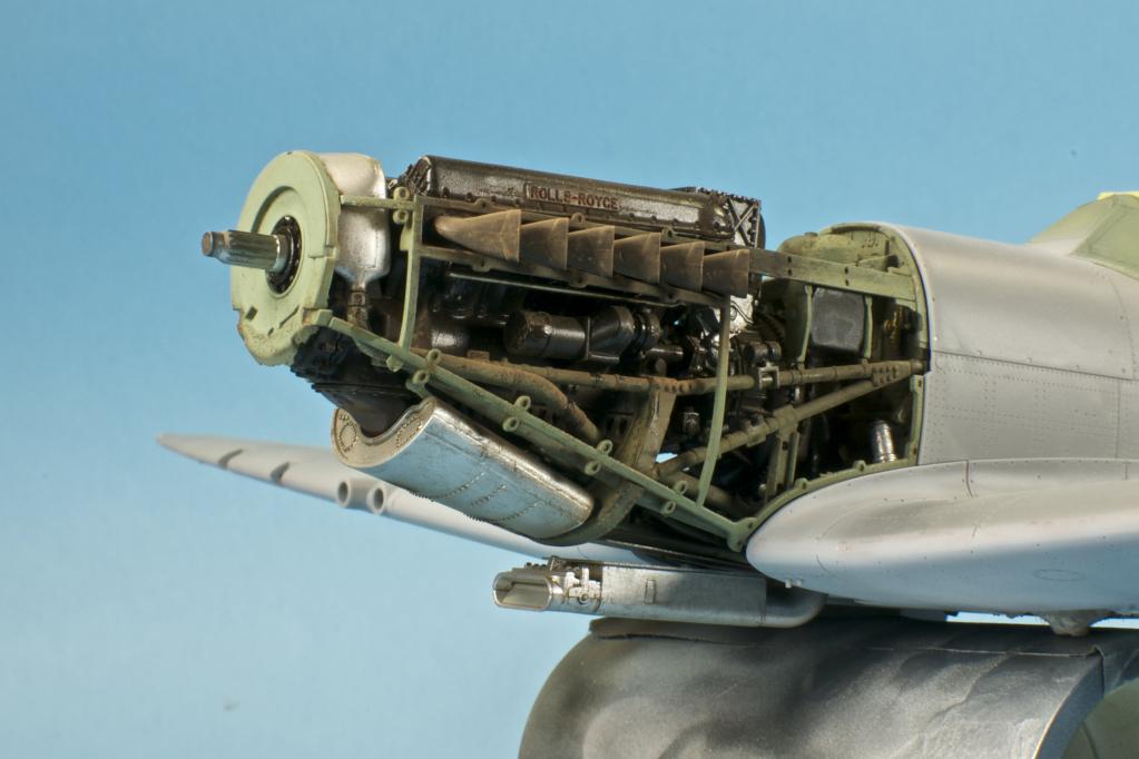 Tamiya Spitfire Mk Viii Build Report 2 Merlin Build Up