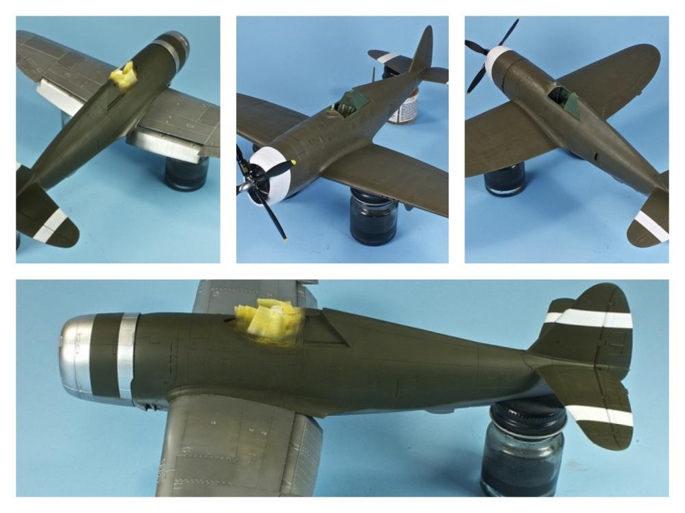 P-47 Razorback Double-Build, Pt  3 – Painting – Doogs Models