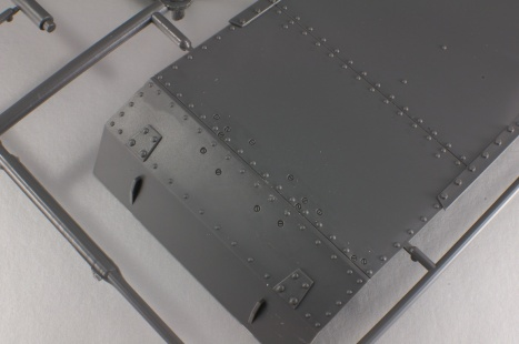 Lower hull detail