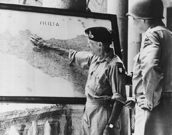 Montgomery_and_Patton_Discuss_Operations_in_Sicily