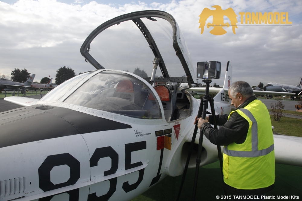 Scanning the cockpit of a T-37