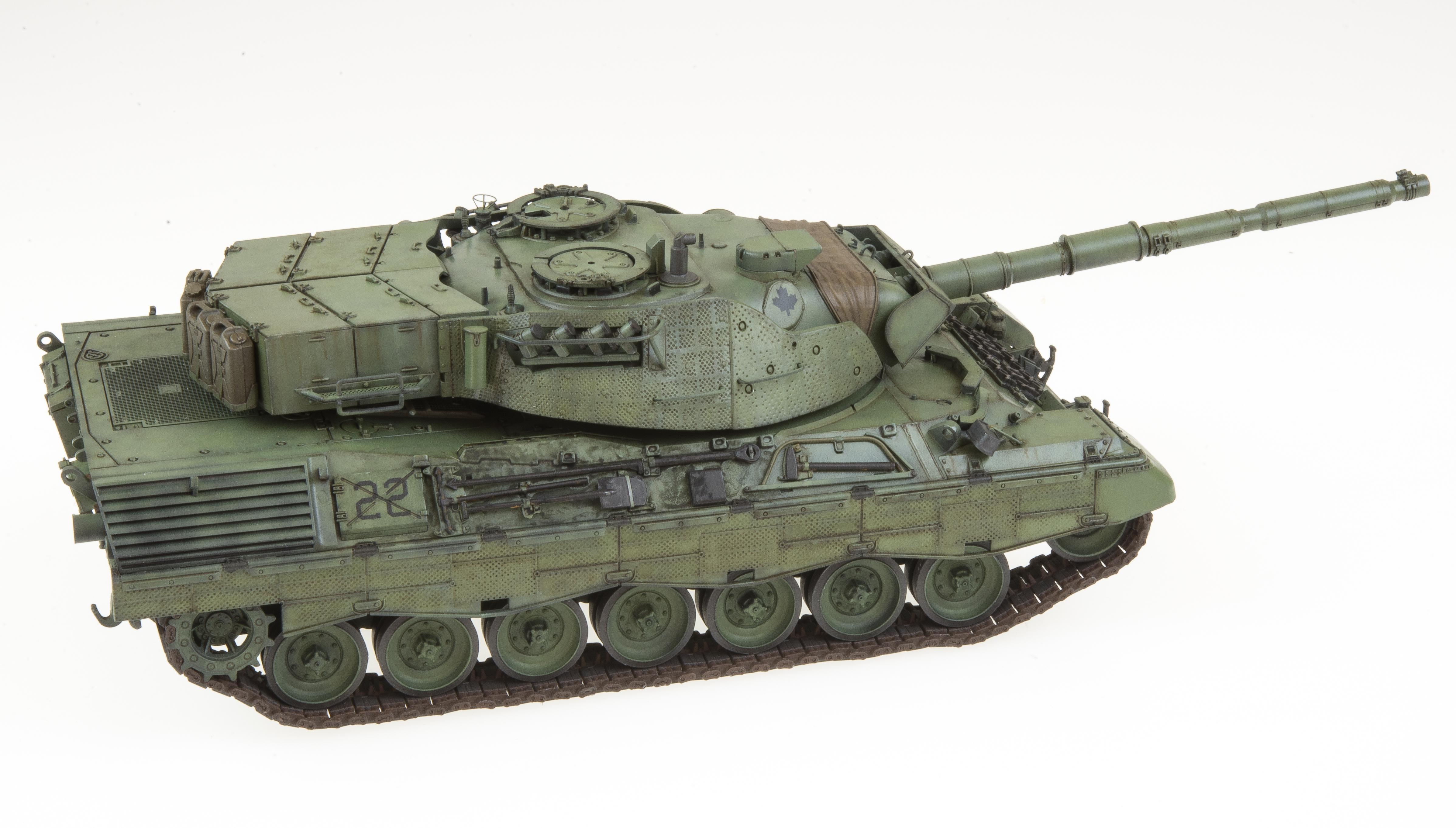 Leopard C2 Doogs Models