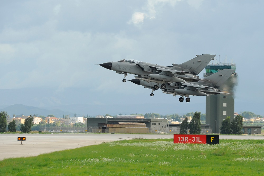 Italian Tornados range from clean - like these ECRs...