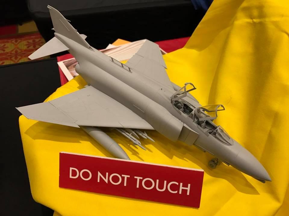 F-4C//D//E//J//EJ Seamles intake for Tamiya kits